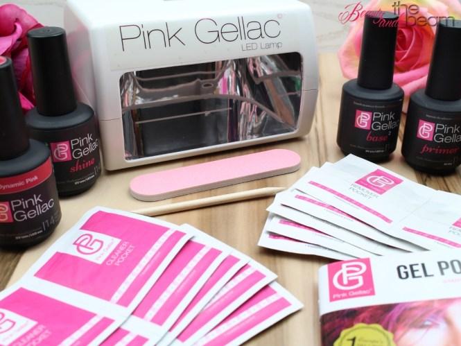 Pink Gellac Starter Kit + Gewinnspiel