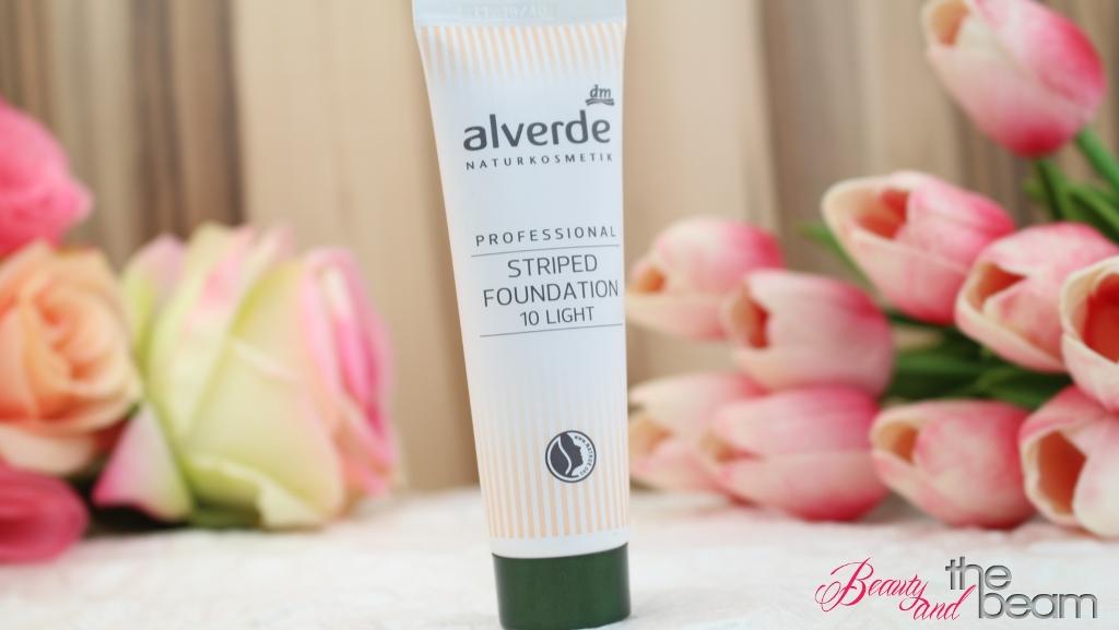 [Beauty] Alverde Striped Foundation