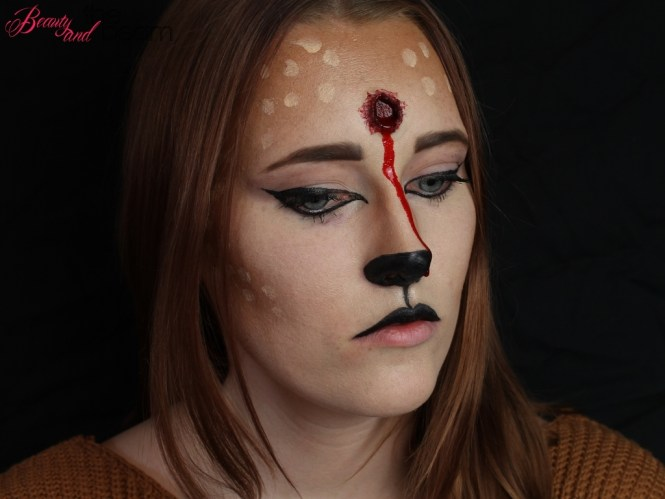 SFX Make Up – Reh mit Schusswunde