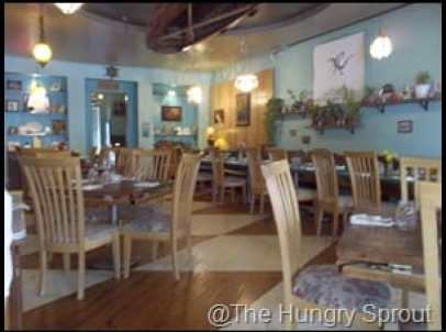 The Floridian St. Augustine dining space