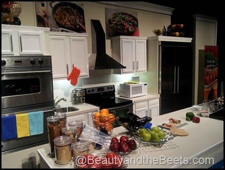 Paula Deen demo kitchen