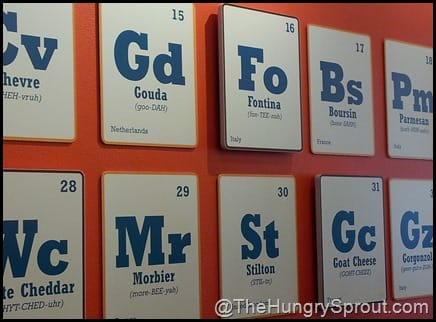 Periodic Table of Cheese- Toasted Orlando