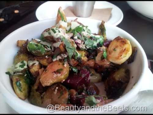 BLT Bar and Grill NYC Roasted Sprouts