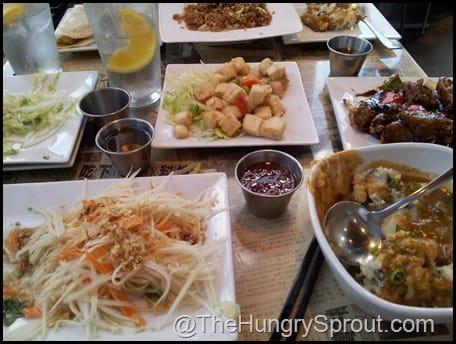 Hawkers Asian Street Fare food