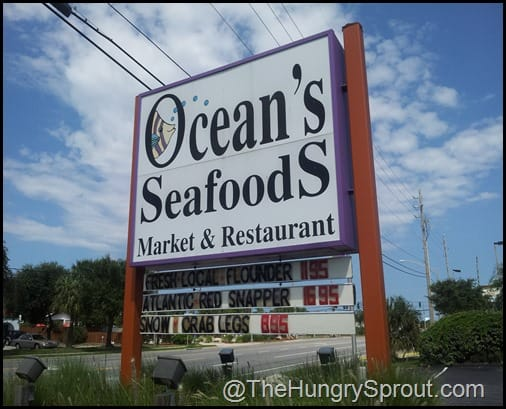 Oceans Seafoods New Smyrna Beach