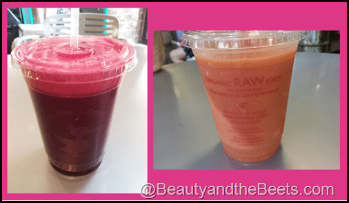One Lucky Duck Hot Pink Juice and Calypso NYC