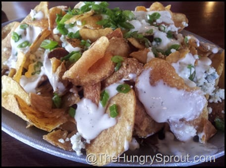 Shula Blue Cheese chips