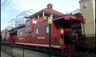 The Cockaboose Railroad and Vegan Food in Columbia, SC