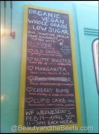 Diggity Doughnuts Chalreston menu