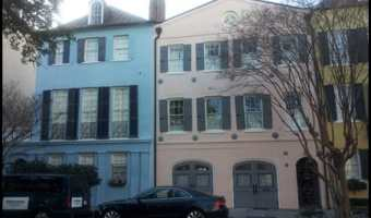 Charleston- Painted Houses and Chipotle Donuts