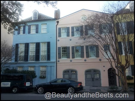 The painted houses of Charleston