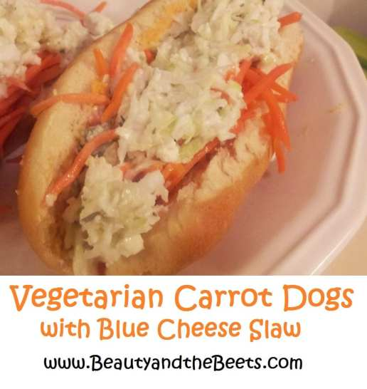 Vegetarian Carrot Dogs Beauty and the Beets