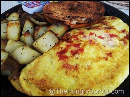 Earl of Sandwich Veggie Omelette