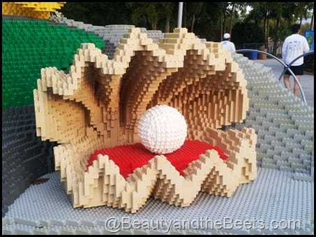 Pearl in the clamshell Legoland