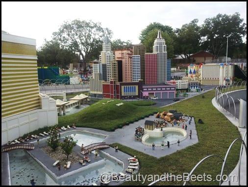 Vegas hotel pool Legoland