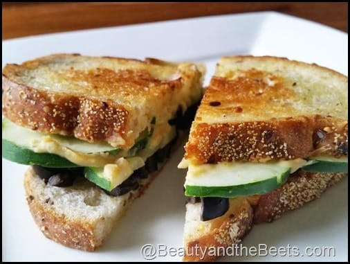 Crispy Cucumber Sandwiches BeautyandtheBeets