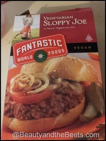 Fantastic Foods Vegan Sloppy Joe