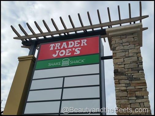 Trader Joes Shake Shack sign