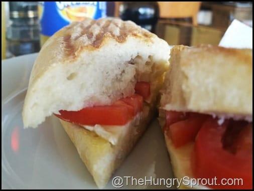 Tomato, Brie and Butter Cafe De Paris