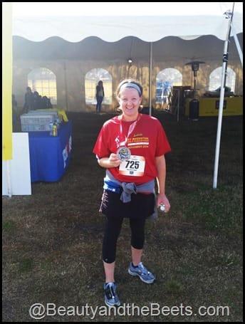 St Augustine Half Marathon Finisher