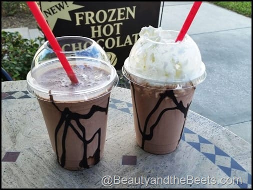 Whetstones Frozen Hot Chocolate