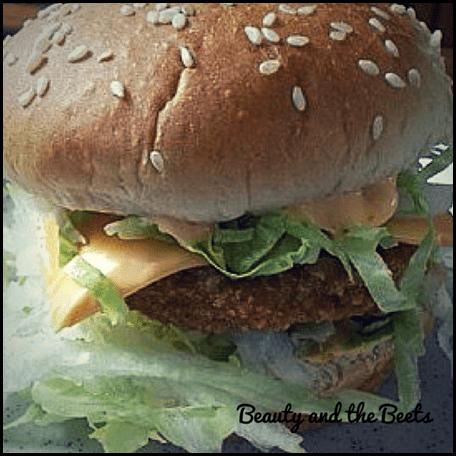 Chik'n Big Mac