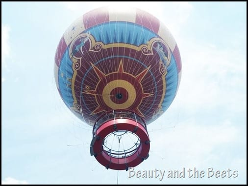 Characters in Flight balloon Beauty and the Beets (3)