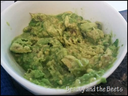 Mashed Avocado Beauty and the Beets