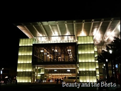 Dr Phillips Center Beauty and the Beets Orlando