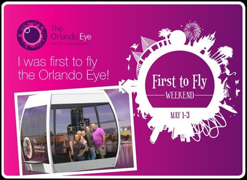 First to Fly The Orlando Eye Beauty and the Beets