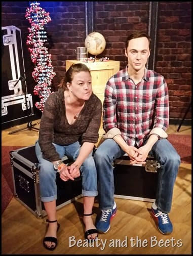 Jim Parsons Madame Tussauds Beauty and the Beets