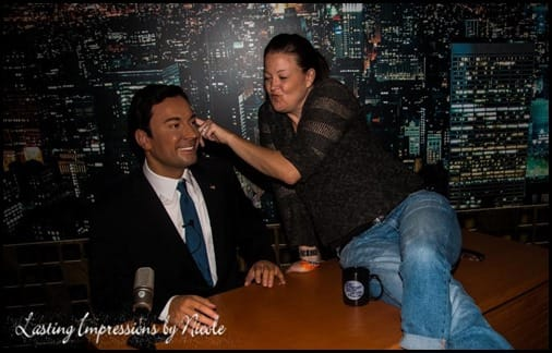 Jimmy Fallon Beauty and the Beets Lasting Impressions by Nicole