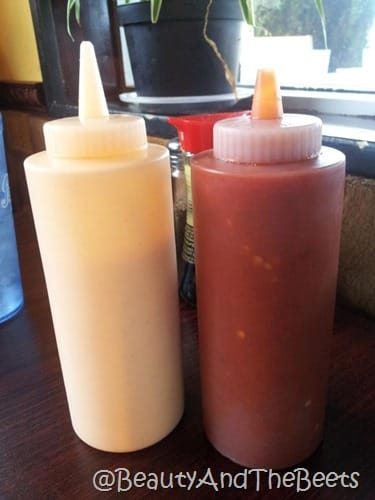 Spicy Mayo and Hot Sauce