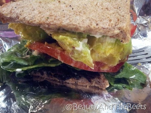 Vegan BLT Dancing Avocado