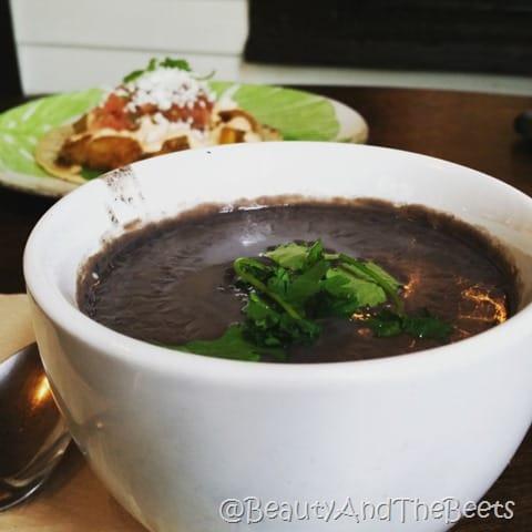 Black Bean soup Foxy Loxy Savannah Beauty and the Beets