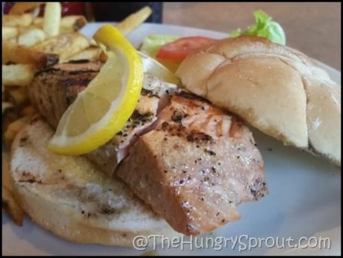 Salmon Sandwich Salamanders Winter Springs Beauty and the Beets