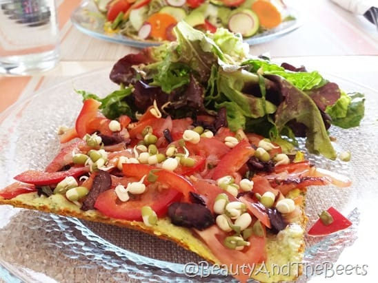 Pizza Beauty of Sprouts Beauty and the Beets