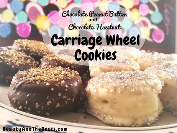 Carriage Wheel Cookies recipe Beauty and the Beets