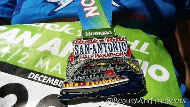 Humana Rock'n'Roll San Antonio Half Marathon 2015 Beauty and the Beets