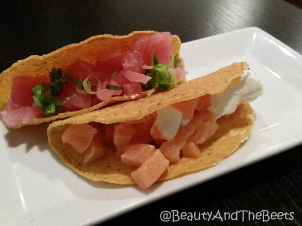 Hand Roll sushi Tacos Beauty and the Beets