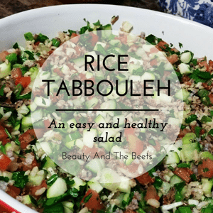 Rice Tabbouleh Beauty and the Beets