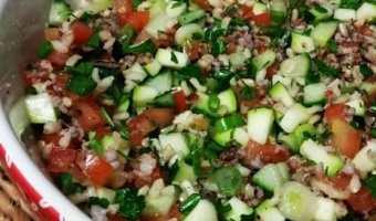 Rice Tabbouleh recipe