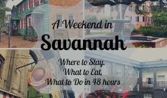 A Weekend in Savannah