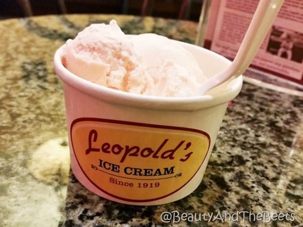 Leopolds Ice Cream Rose Petal Beauty and the Beets