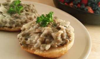 Vegan Lentil Breakfast Gravy