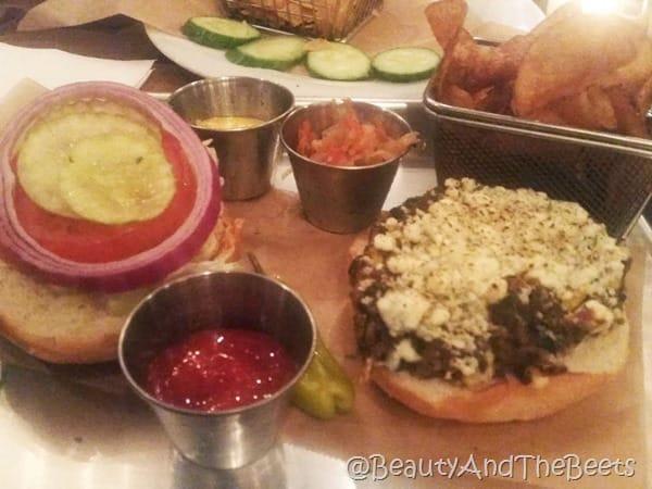 Veggie Burger Treylor Park Savannah Beauty and the Beets