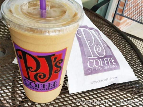 King Cake coffee PJ's coffee Beauty and the Beets