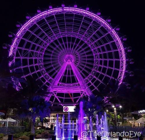 The Orlando Eye tribute to Prince