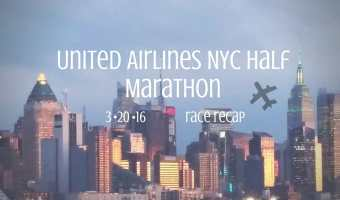 United Airlines NYC Half Marathon recap