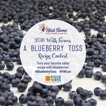 blueberry-toss